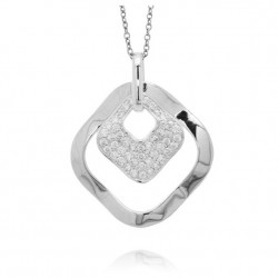 COLLIER FANTAISIE HYPNOTIC ARGENT COLLECTION INFINITIV