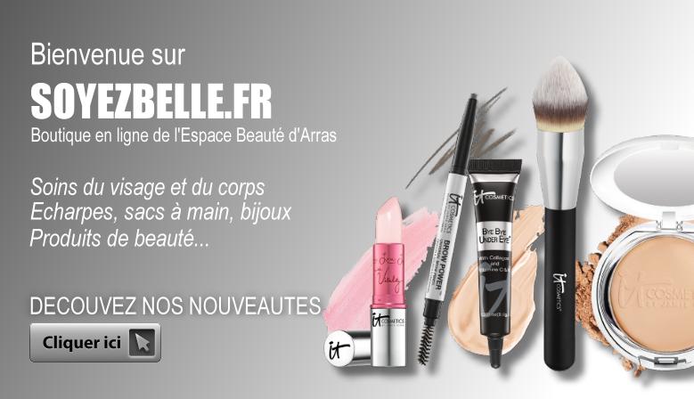 Boutique en ligne de l'Espace Beauté d'Arras - SOYEZBELLE.FR